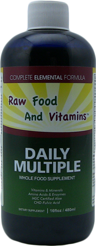 multi mineral vitamins amino acids enzymes